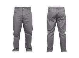 Calça brim masculina uniforme