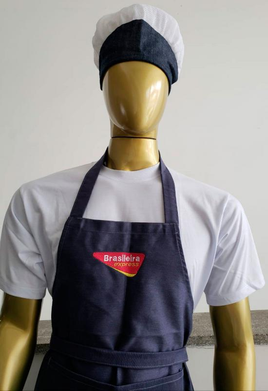 Uniformes profissionais para cozinha industrial
