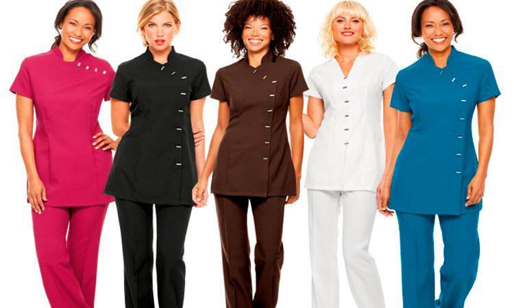 Uniformes profissionais femininos
