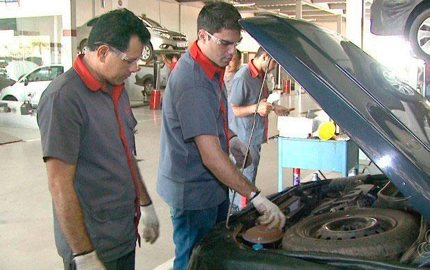 Uniformes profissionais para mecânicos