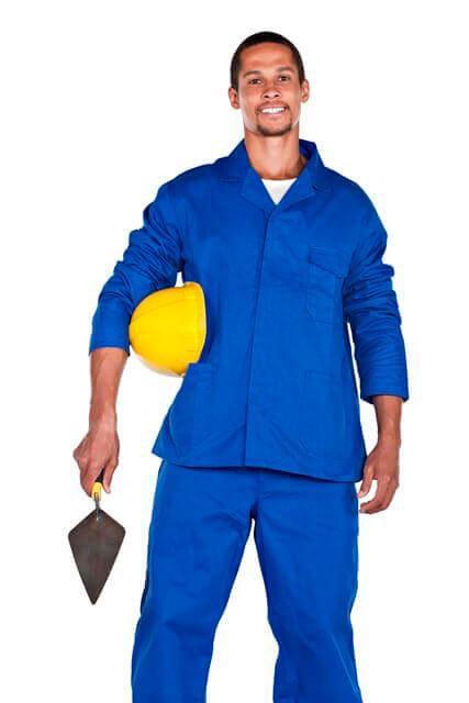 Uniformes profissionais para obras